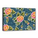 Floral Fantsy Pattern Canvas 18  x 12  View1