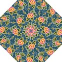 Floral Fantsy Pattern Straight Umbrellas View1