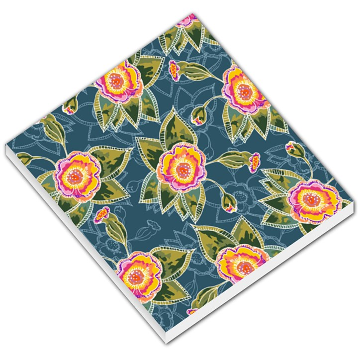Floral Fantsy Pattern Small Memo Pads