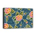 Floral Fantsy Pattern Deluxe Canvas 18  x 12   View1
