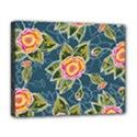 Floral Fantsy Pattern Deluxe Canvas 20  x 16   View1