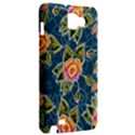 Floral Fantsy Pattern Samsung Galaxy Note 1 Hardshell Case View2