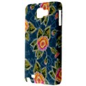 Floral Fantsy Pattern Samsung Galaxy Note 1 Hardshell Case View3