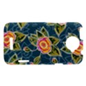 Floral Fantsy Pattern HTC One X Hardshell Case  View1