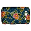Floral Fantsy Pattern HTC Wildfire S A510e Hardshell Case View1