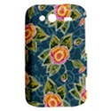 Floral Fantsy Pattern HTC Wildfire S A510e Hardshell Case View2