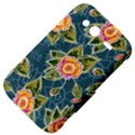 Floral Fantsy Pattern HTC Wildfire S A510e Hardshell Case View4