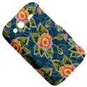 Floral Fantsy Pattern HTC Wildfire S A510e Hardshell Case View5