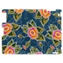 Floral Fantsy Pattern Apple iPad 2 Hardshell Case View1