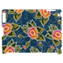 Floral Fantsy Pattern Apple iPad 2 Hardshell Case (Compatible with Smart Cover) View1