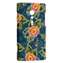 Floral Fantsy Pattern Sony Xperia ion View2