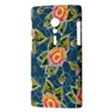 Floral Fantsy Pattern Sony Xperia ion View3