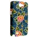 Floral Fantsy Pattern Samsung Galaxy Note 2 Hardshell Case View2