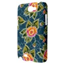 Floral Fantsy Pattern Samsung Galaxy Note 2 Hardshell Case View3