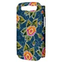 Floral Fantsy Pattern Samsung Galaxy S III Hardshell Case (PC+Silicone) View3