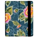 Floral Fantsy Pattern Apple iPad 2 Flip Case View2