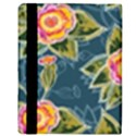 Floral Fantsy Pattern Apple iPad 2 Flip Case View3