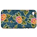 Floral Fantsy Pattern Apple iPhone 4/4S Hardshell Case (PC+Silicone) View1