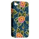 Floral Fantsy Pattern Apple iPhone 4/4S Hardshell Case (PC+Silicone) View2