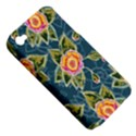 Floral Fantsy Pattern Apple iPhone 4/4S Hardshell Case (PC+Silicone) View5