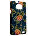 Floral Fantsy Pattern Samsung Galaxy S II i9100 Hardshell Case (PC+Silicone) View2