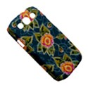 Floral Fantsy Pattern Samsung Galaxy S III Classic Hardshell Case (PC+Silicone) View5