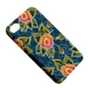 Floral Fantsy Pattern Apple iPhone 4/4S Hardshell Case with Stand View5