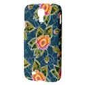 Floral Fantsy Pattern Samsung Galaxy S4 I9500/I9505 Hardshell Case View3