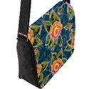 Floral Fantsy Pattern Flap Messenger Bag (L)  View2