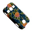 Floral Fantsy Pattern Samsung Galaxy S7710 Xcover 2 Hardshell Case View5
