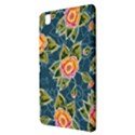 Floral Fantsy Pattern Samsung Galaxy Tab Pro 8.4 Hardshell Case View3