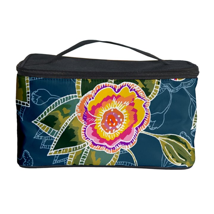Floral Fantsy Pattern Cosmetic Storage Case