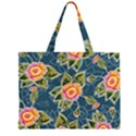 Floral Fantsy Pattern Large Tote Bag View2