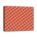 Vibrant Retro Diamond Pattern Canvas 10  x 8  View1
