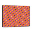 Vibrant Retro Diamond Pattern Canvas 16  x 12  View1