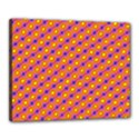 Vibrant Retro Diamond Pattern Canvas 20  x 16  View1
