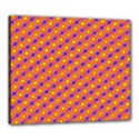 Vibrant Retro Diamond Pattern Canvas 24  x 20  View1