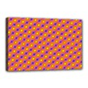 Vibrant Retro Diamond Pattern Canvas 18  x 12  View1