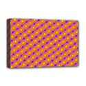 Vibrant Retro Diamond Pattern Deluxe Canvas 18  x 12   View1