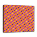 Vibrant Retro Diamond Pattern Deluxe Canvas 24  x 20   View1