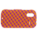 Vibrant Retro Diamond Pattern HTC Amaze 4G Hardshell Case  View1