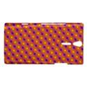 Vibrant Retro Diamond Pattern Sony Xperia S View1