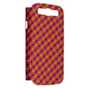 Vibrant Retro Diamond Pattern Samsung Galaxy S III Hardshell Case (PC+Silicone) View2