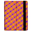 Vibrant Retro Diamond Pattern Apple iPad 2 Flip Case View2