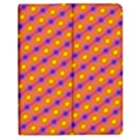 Vibrant Retro Diamond Pattern Apple iPad Mini Flip Case View1