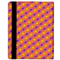Vibrant Retro Diamond Pattern Apple iPad Mini Flip Case View3
