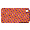 Vibrant Retro Diamond Pattern Apple iPhone 4/4S Hardshell Case (PC+Silicone) View1