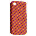 Vibrant Retro Diamond Pattern Apple iPhone 4/4S Hardshell Case (PC+Silicone) View2