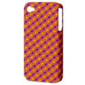 Vibrant Retro Diamond Pattern Apple iPhone 4/4S Hardshell Case (PC+Silicone) View3