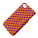 Vibrant Retro Diamond Pattern Apple iPhone 4/4S Hardshell Case with Stand View4